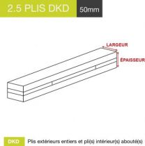 carrelet 2.5 plis dkd 50mm