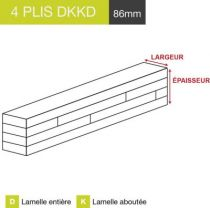 carrelet 4 plis dkkd 86mm