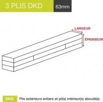 carrelet 3 plis dkd 63mm